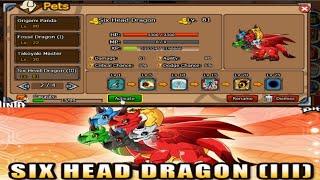 Ninja Saga - Pet : Six Head Dragon Iii  [ Pet Combination ] 2015