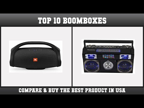 Top 10 Boomboxes to buy in USA | Price & Review