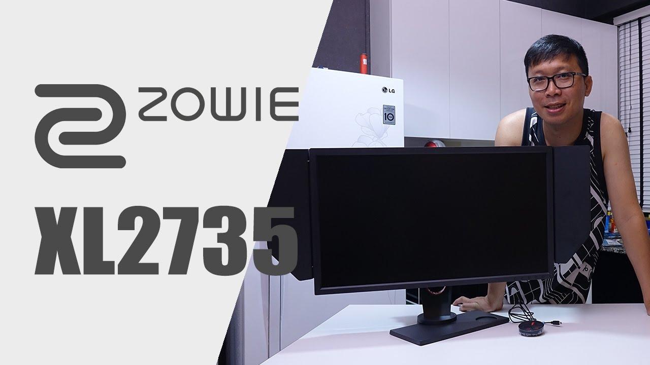 รีวิว: BenQ ZOWIE XL2735 27
