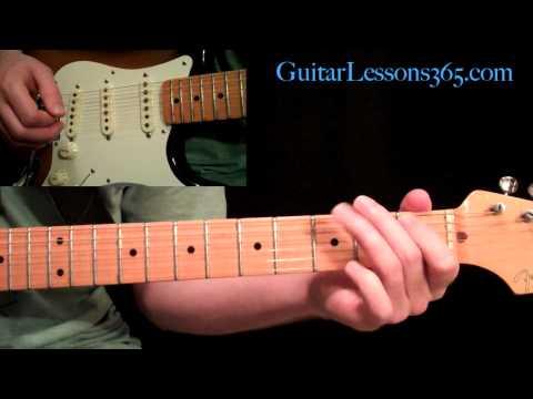 Ozzy Osbourne - Bark At The Moon Guitar Lesson Pt.1 - All Rhythm Guitar Parts