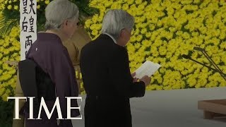 Japan's Emperor Tries To Make Amends For World War II | TIME