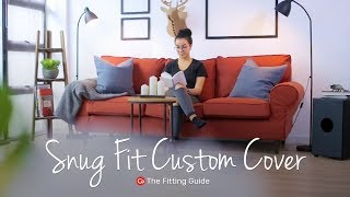 How to Install Snug Fit Covers | Comfort Works Sofa Covers