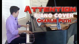 """""""Attention"""" - Piano Cover - Charlie Puth + sheet music   George Vidal Cover"""