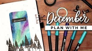 PLAN WITH ME   December 2019 Bullet Journal Setup