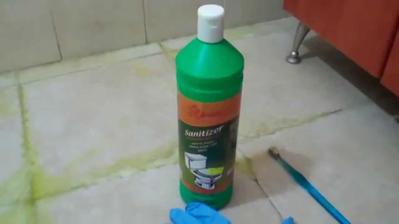 How To Clean Grout Quick And Easy YouTube - Best stuff to clean grout
