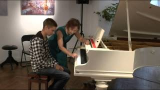 Мастер класс по фортепиано преп.  Елена Бондаренко