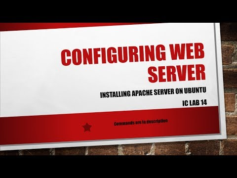 Configuring Web Server on Ubuntu