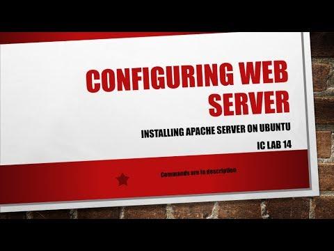 Configuring Web Server on Ubuntu