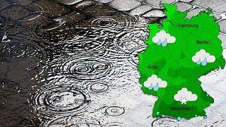 Graues Regenwetter am Samstag (11.01.2019)