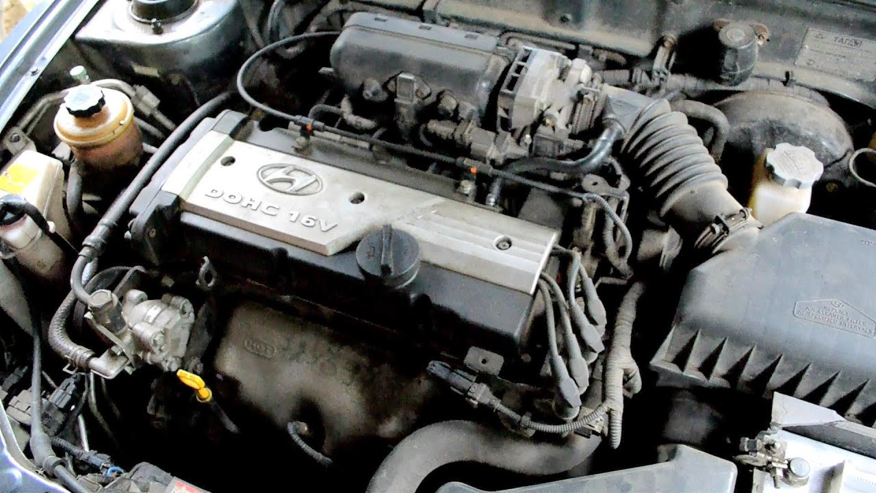 Двигатель Хендай Акцент Hyundai Accent - YouTube