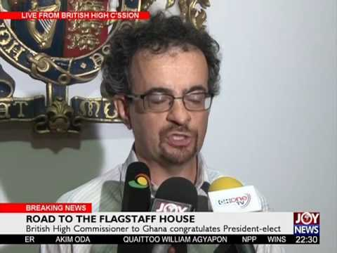 British High Commissioner to Ghana congratulates President elect