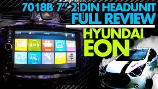 "7018B 7"" 2DIN Touchscreen Headunit 