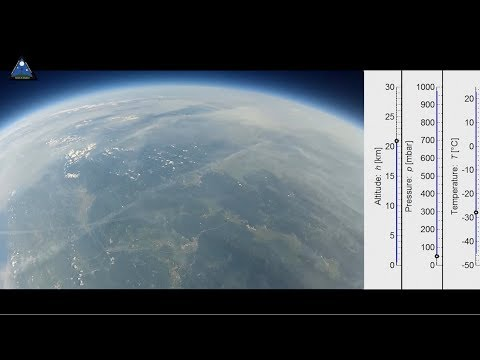 High-altitude balloon - Srecko in space - Whole flight [Full HD 1080p]