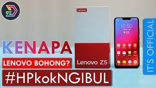 LENOVO Z5  INDONESIA | KEBOHONGAN BESAR LENOVO? | ITS OFFICIAL | SPESIFIKASI DAN HARGA