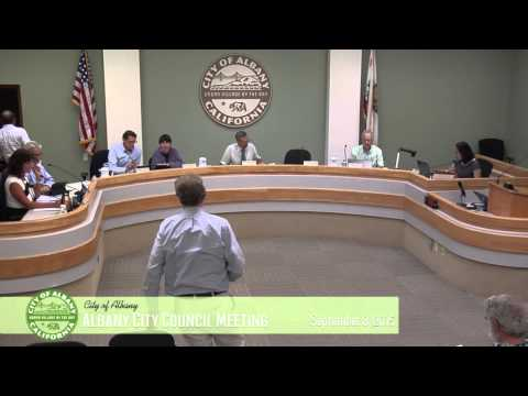 Albany City Council - Sept. 8, 2015