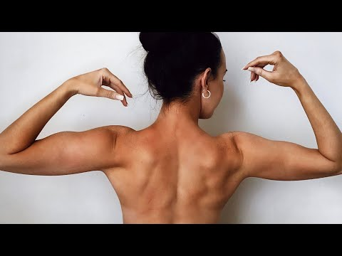 BACK WORKOUT   Sculpting   Home Workout