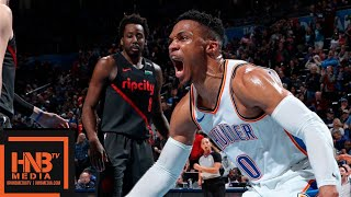 OKC Thunder vs Portland Trail Blazers Full Game Highlights | 01/22/2019 NBA Season
