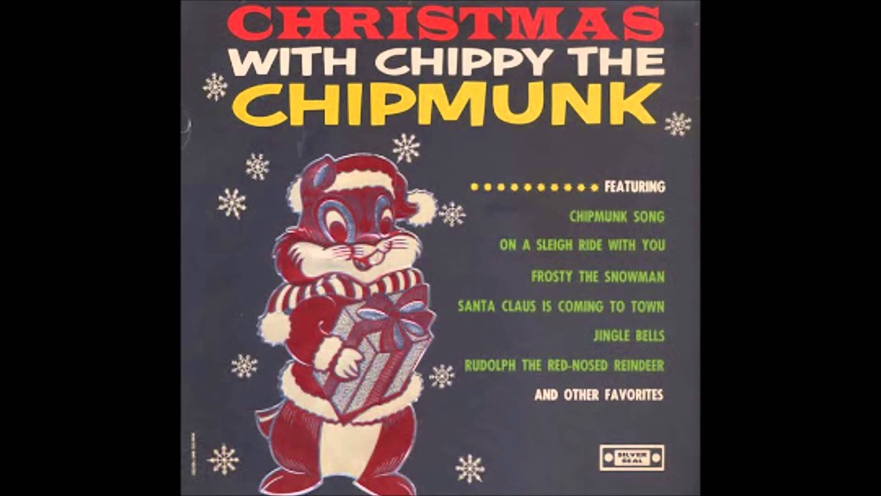 Christmas with Chippy the Chipmunk Silver Seal Original 1960s! - YouTube