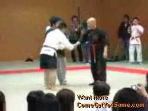 Kiai Master VS MMA Fighter