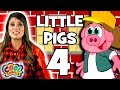 The Three Little Pigs 🐷Chapter 4 🐷BRAND NEW Story Time with Ms. Booksy | Cartoons for Kids