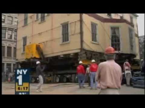Hamilton Grange House Moving, Manhattan NY -- Media