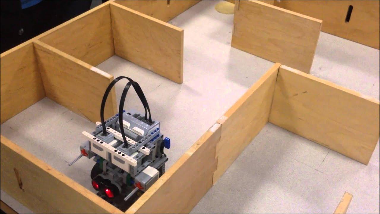 Lego Mindstorms EV3 - Maze Solver | FunnyCat.TV