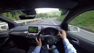 POV Drive Mercedes-Benz B-Class (B180)(1595cc DOHC Turbo122ps(90kW)/5000rpm 20.4kg・m(200N・m)/1250~4000rpm., 2016-05-27T03:47:58.000Z)