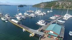 Deer Harbor Marina [DRONE]
