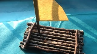 Make An Amazing Wooden Toy Raft - Diy Crafts - Guidecentral