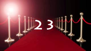 Red Carpet Event Countdown Video