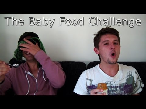 The Baby Food Challenge [Drew & Robert]