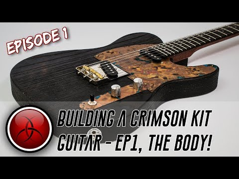 Building a Crimson Kit Guitar - 1/3, Preparing the Body