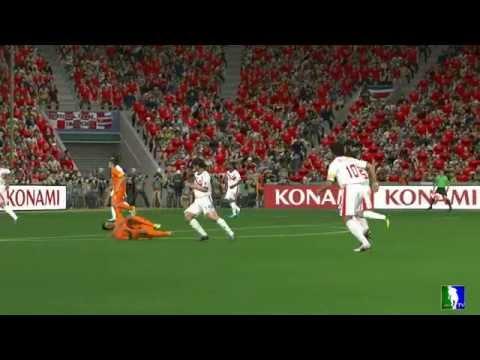 Match - QUARTES-FINALS -  Netherlands vs Costa Rica : FIFA WORLD CUP PES 2014