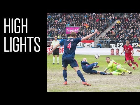 Highlights FC Utrecht - Ajax
