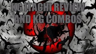 Roblox - Shinobi Vie - France Itachi Sharingan Review - KG Combos Episode 1