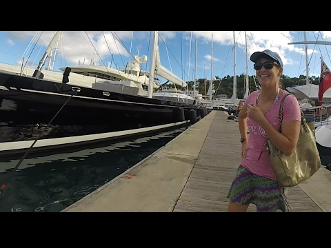 Ep 27 Superyachts in Antigua
