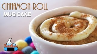 Cinnamon Roll Mug Cake (Easy Recipe)【簡単!】シナモンロールもマグカップで出来る!!