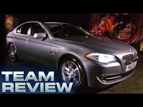 BMW Active Hybrid 5 Team Review Fifth Gear
