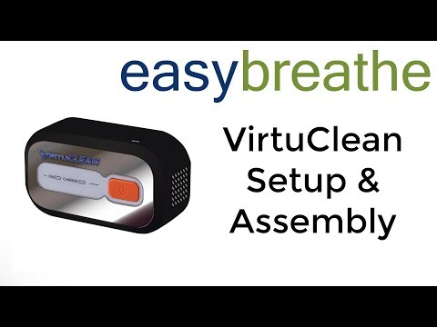 VirtuCLEAN CPAP Cleaner: Setup and Assembly