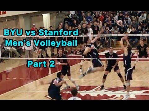BYU vs Stanford HIGHLIGHTS part 2/2 - Men's Volleyball (2/24/17)
