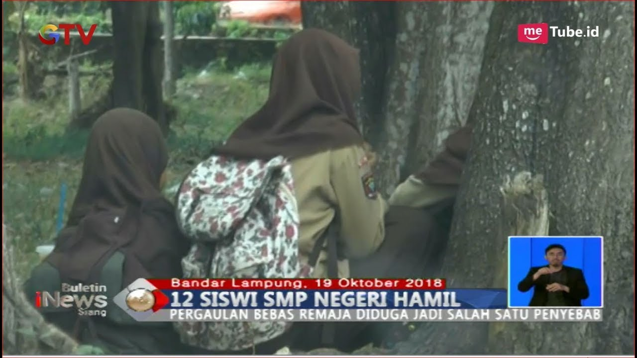 Download HEBOH! 12 Siswi SMP Negeri di Lampung Hamil, Disdikbud Turun Tangan - BIS 20/10