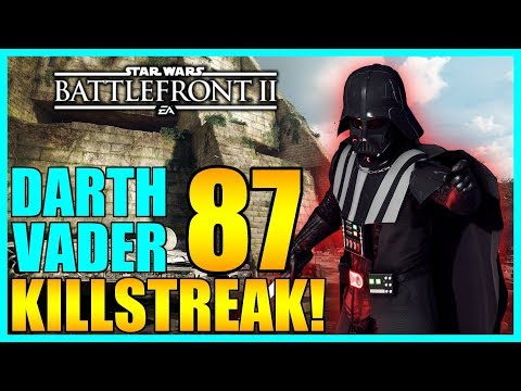 87 Darth Vader Gameplay/Killstreak