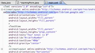 Android Application Development Tutorial - 198 - Adding Admob Ads via Java