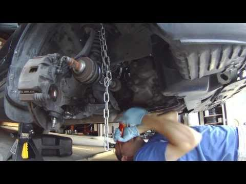 Removing a Stuck CV Axle Inner Joint