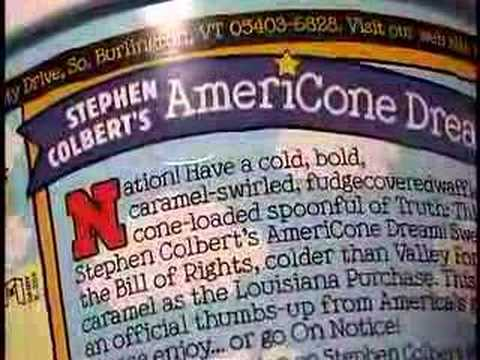 Stephen Colbert S Americone Dream Youtube Stephen colbert's americone dream is the one ice cream you should know, for one day, it could save your life. youtube