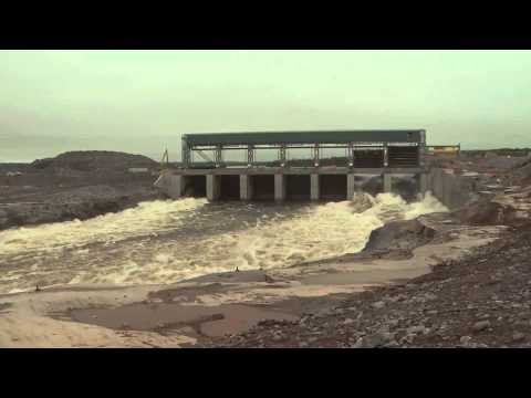 Pointe du Bois Spillway Transitions from Old to New - Manitoba Hydro