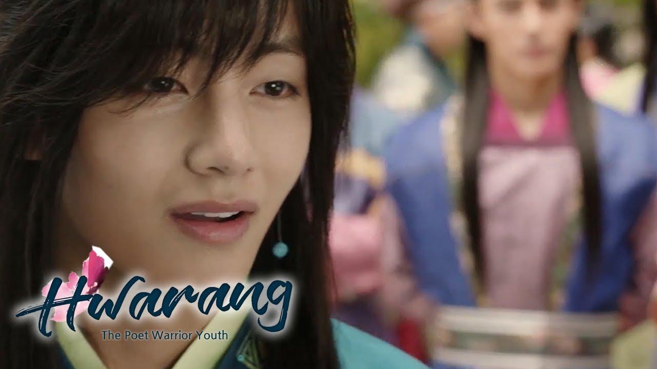 """Download Kim Tae Hyung """"Hwarang, That sounds nice!"""" [Hwarang Ep 2]"""