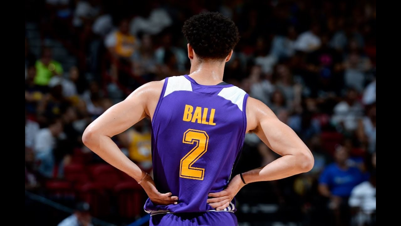 9d911fa31be Lonzo Ball's Top 10 Plays from the Las Vegas Summer League - YouTube