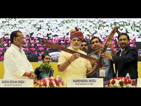 PM Modi at the launching of DD Kisan Channel