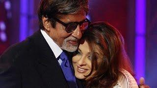 Aishwarya Rai Bachchan's Warm Hug For Amitabh Bachchan